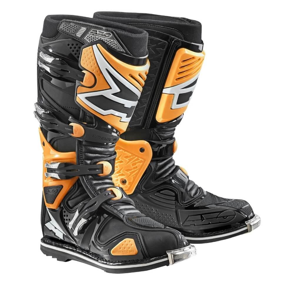 Motokrosové topánky AXO A2 oranžová - 43