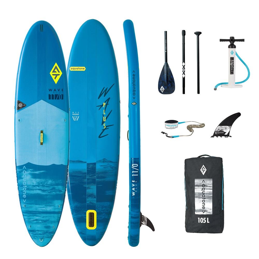 Paddleboard s príslušenstvom Aquatone Wave Plus 11.0
