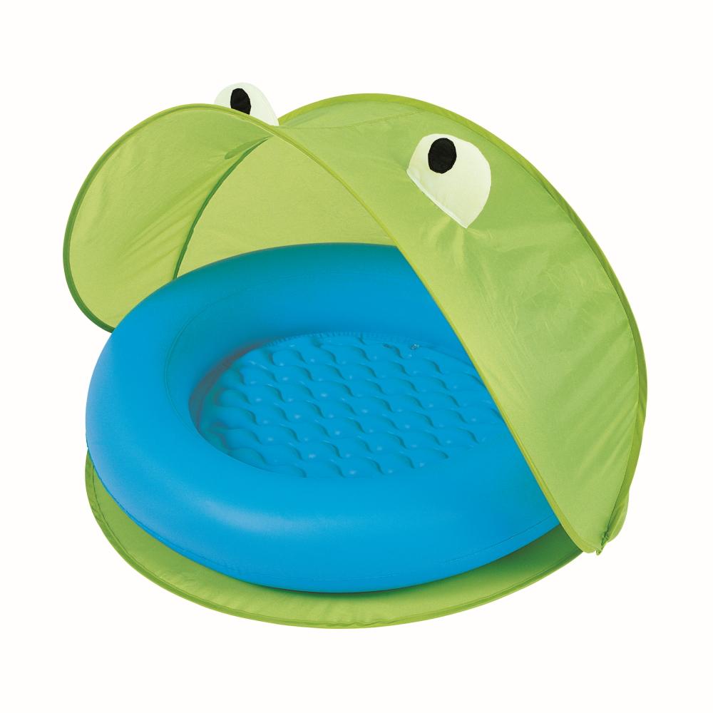 Bazén se strieškou Bestway Paddling Pool 97 x 97 cm zelená