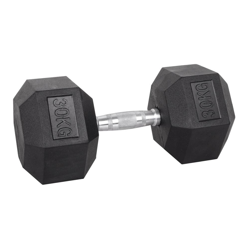 Šesťhranná činka inSPORTline Hexsteel 30 kg
