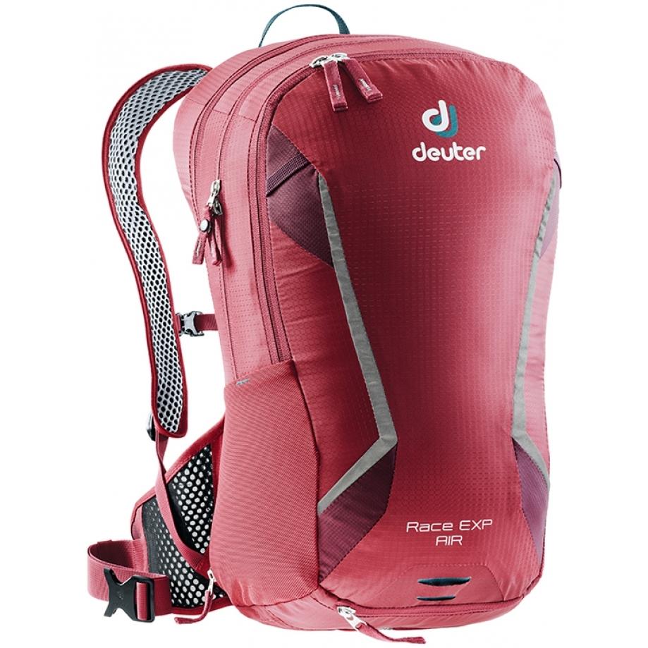 Cyklistický batoh DEUTER Race EXP Air 14+3 cranberry-maron