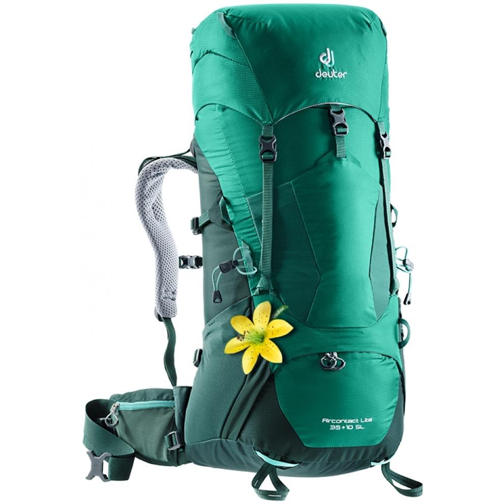 Turistický batoh DEUTER Aircontact Lite 35 + 10 SL alpinegreen-forest