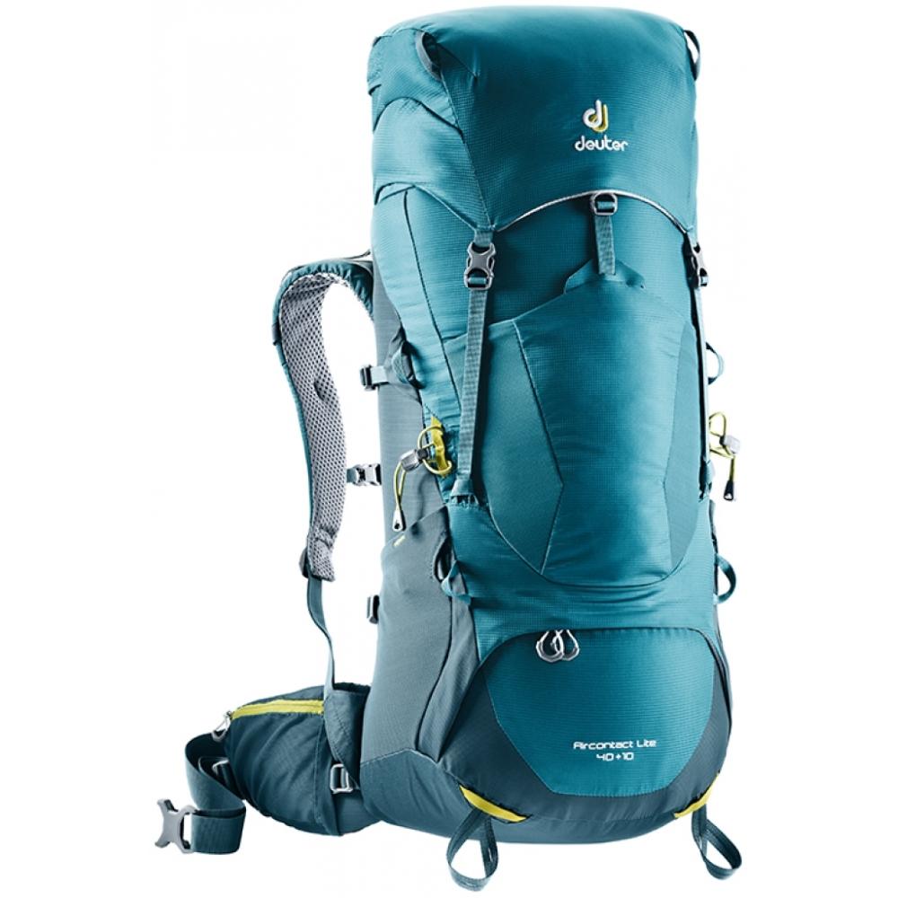 Turistický batoh DEUTER Aircontact Lite 40 + 10 denim-arctic