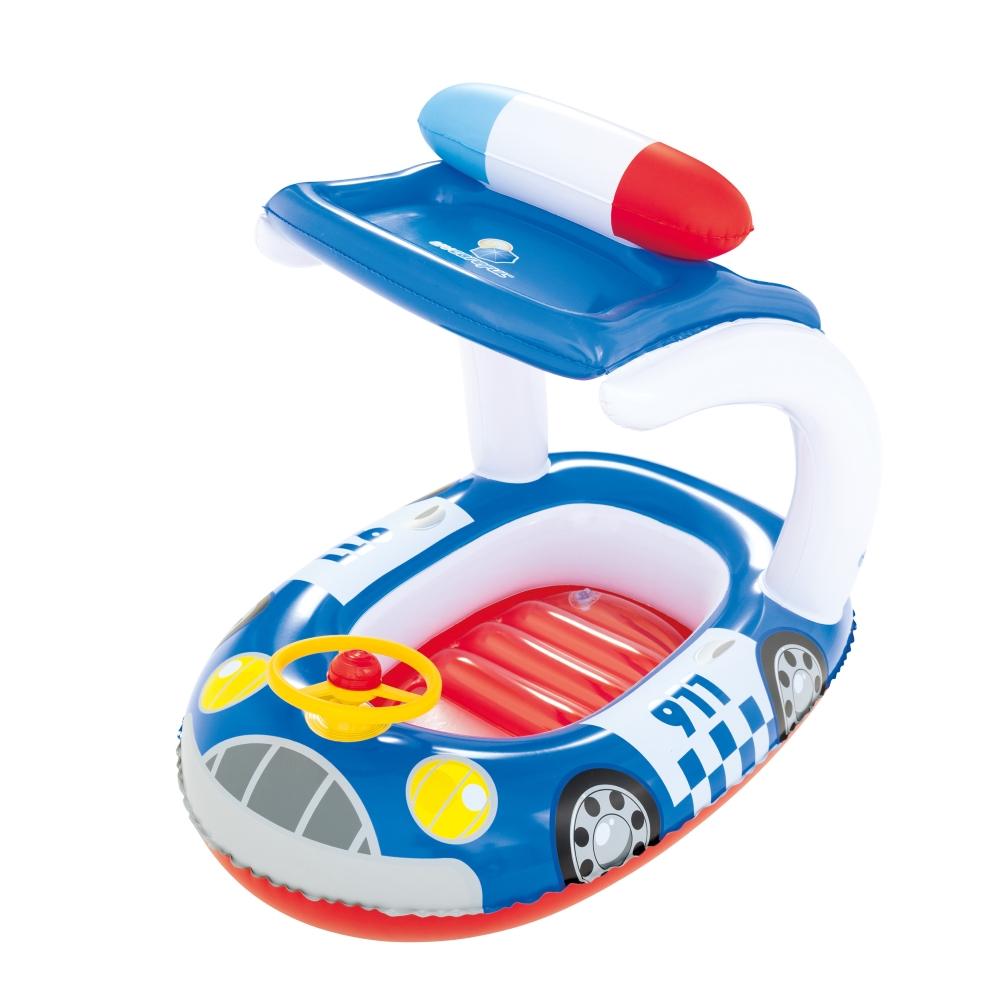 Plávajúce auto Bestway Kiddie Car modrá