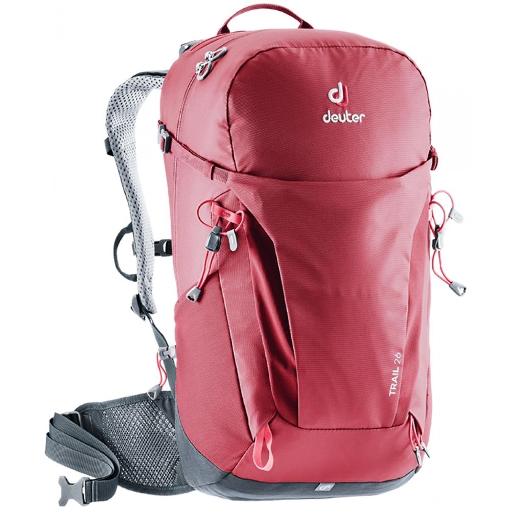 Turistický batoh DEUTER Trail 26 cranberry-graphite