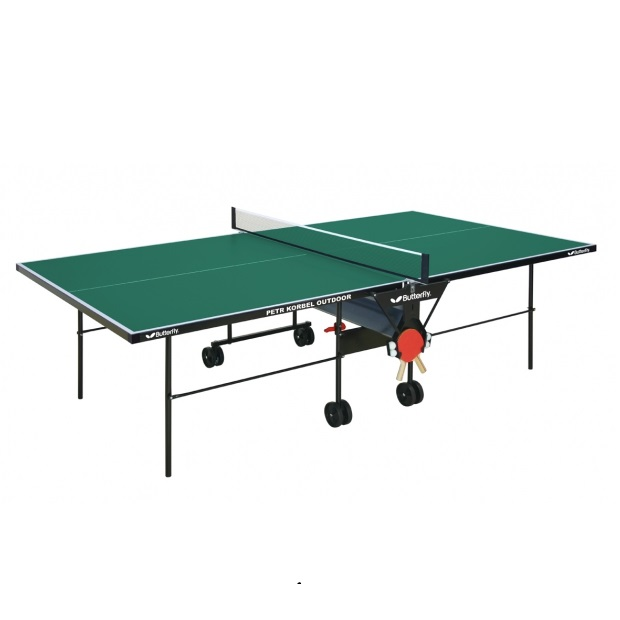 Stôl na stolný tenis Butterfly Petr Korbel Outdoor