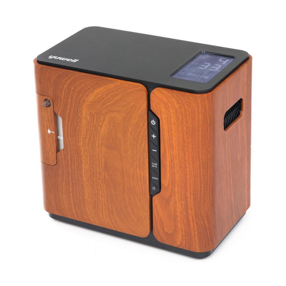 Kyslíkový koncentrátor na domáce použitie Yuwell YU-500 hnedý