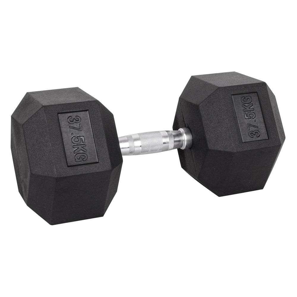 Šesťhranná činka inSPORTline Hexsteel 37,5 kg