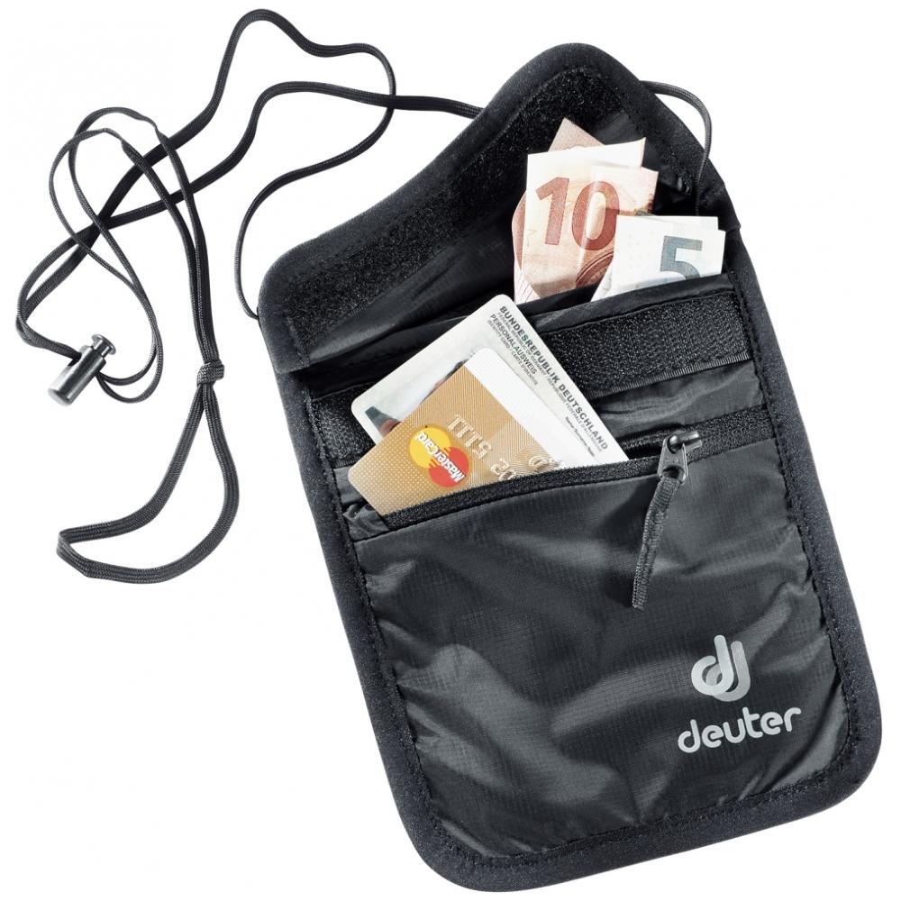 Športová peňaženka DEUTER Security Wallet II čierna