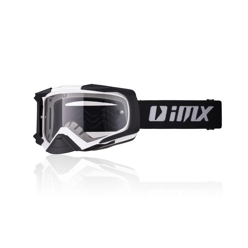 Motokrosové okuliare iMX Dust White-Black Matt