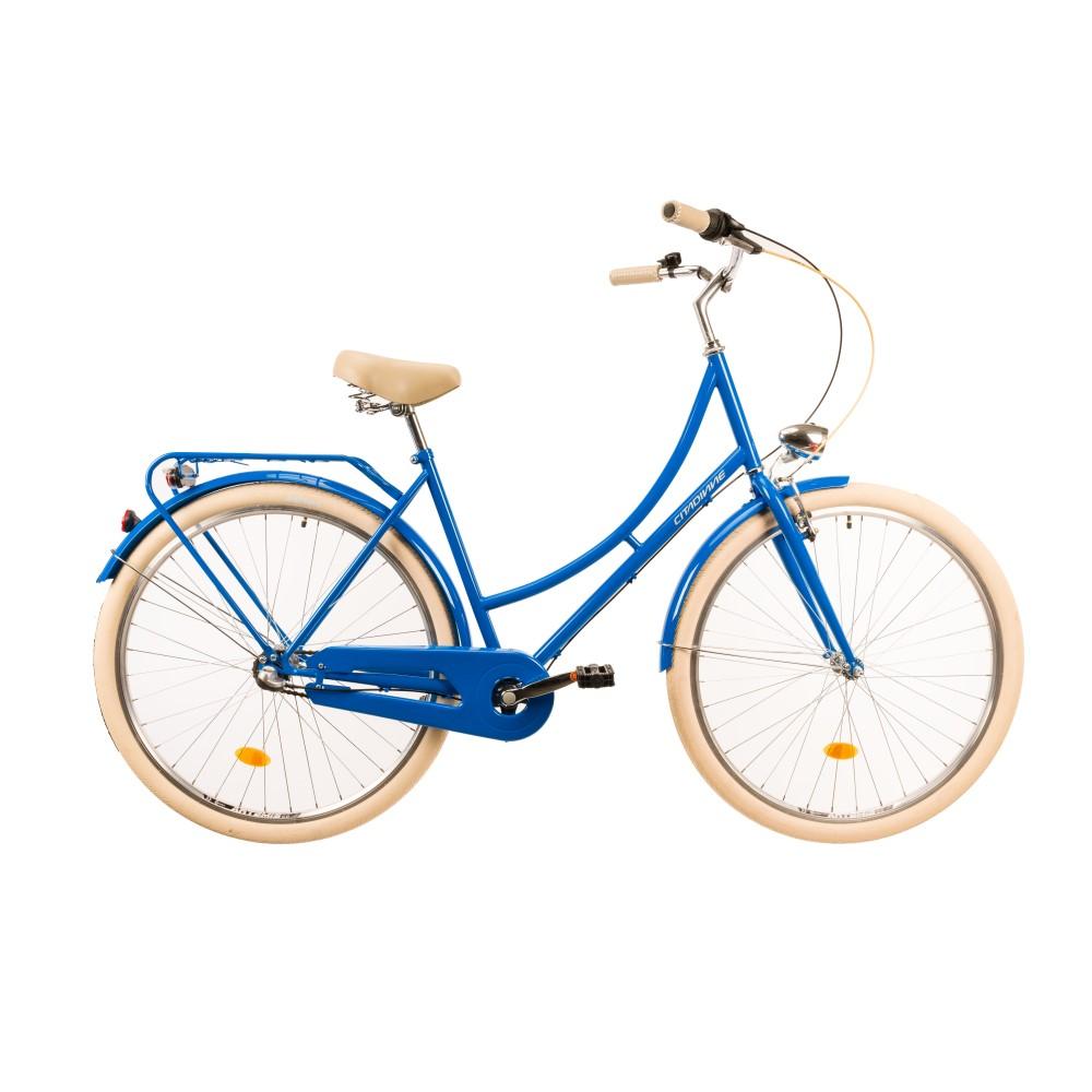 """Mestský bicykel DHS Citadinne 2836 28"""" 4.0 blue - 20"""" - Záruka 10 rokov"""