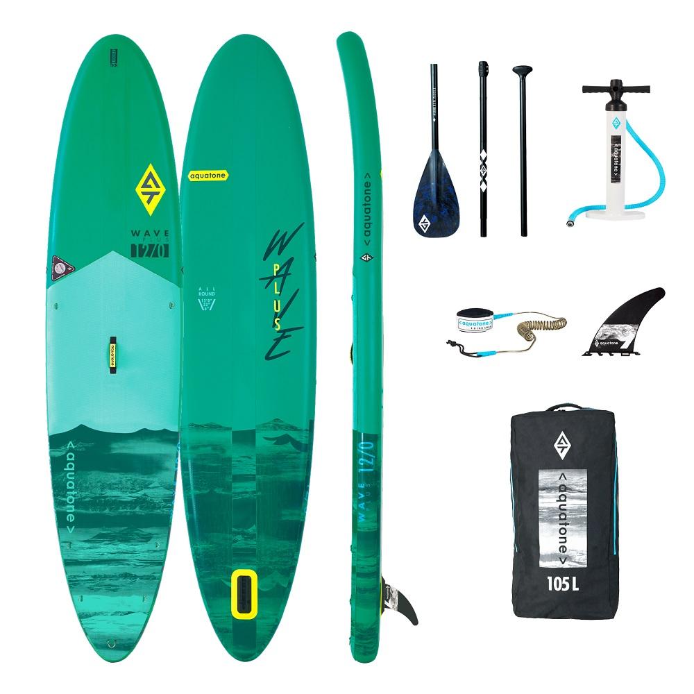 Paddleboard s príslušenstvom Aquatone Wave Plus 12.0
