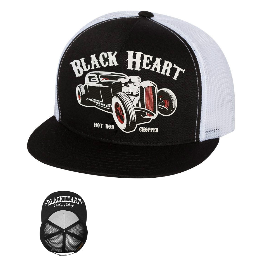 Šiltovka BLACK HEART Rat Rod Trucker