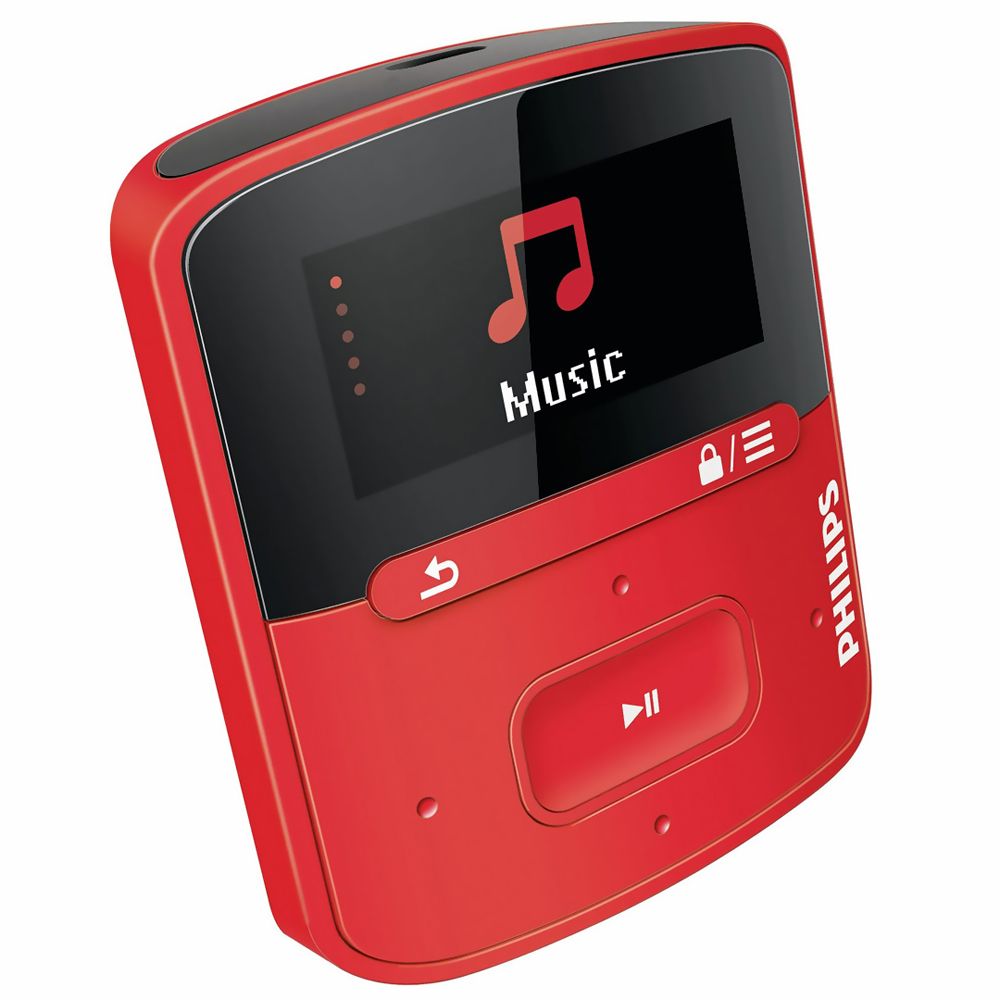 MP3 prehrávač Philips Raga 4GB