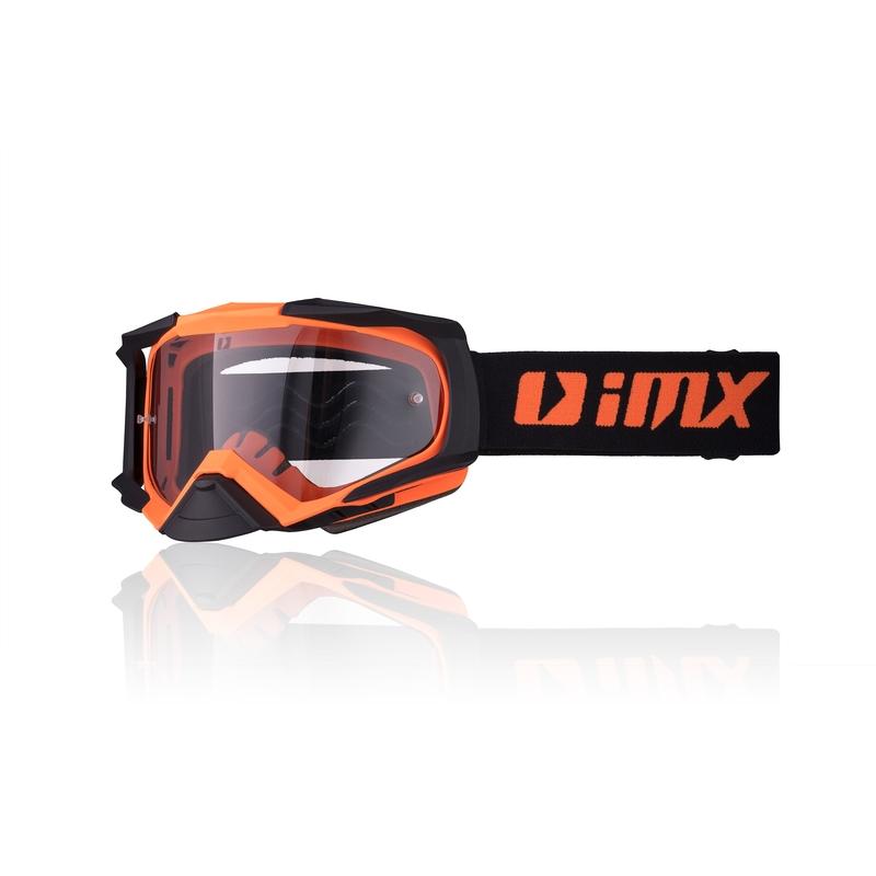 Motokrosové okuliare iMX Dust Orange Matt-Black Matt
