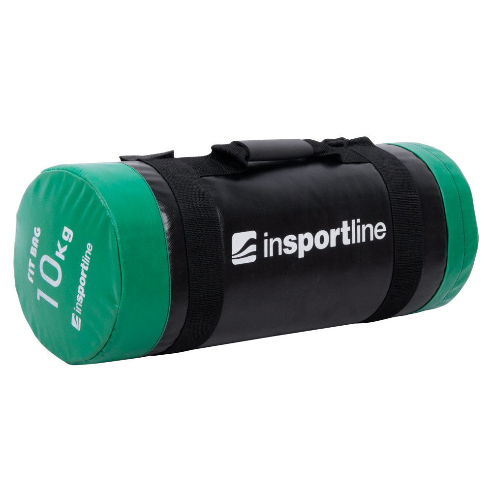 Vak na posilňovanie s úchopmi inSPORTline FitBag - 10 kg