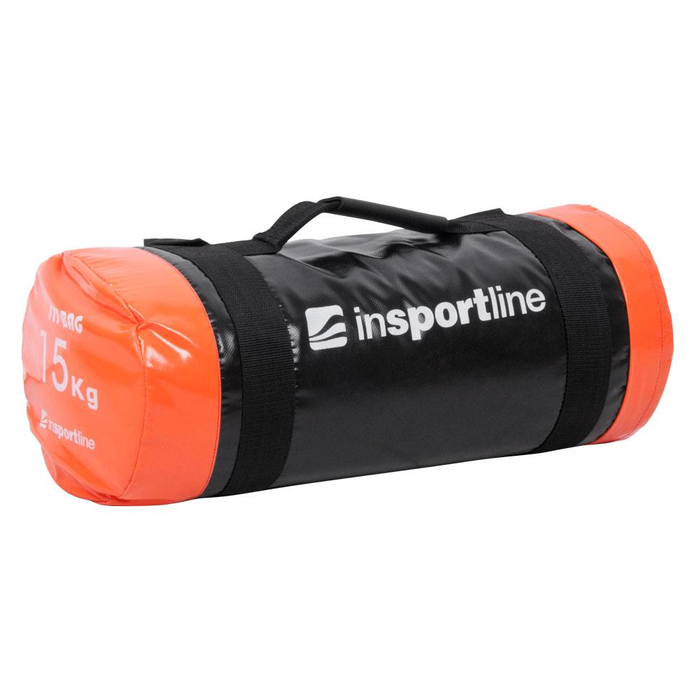 Posilňovací vak s úchopmi inSPORTline FitBag - 15 kg