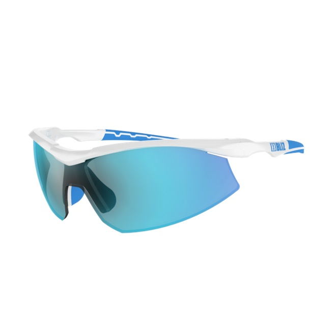 Športové slnečné okuliare Bliz Prime bielo-modrá