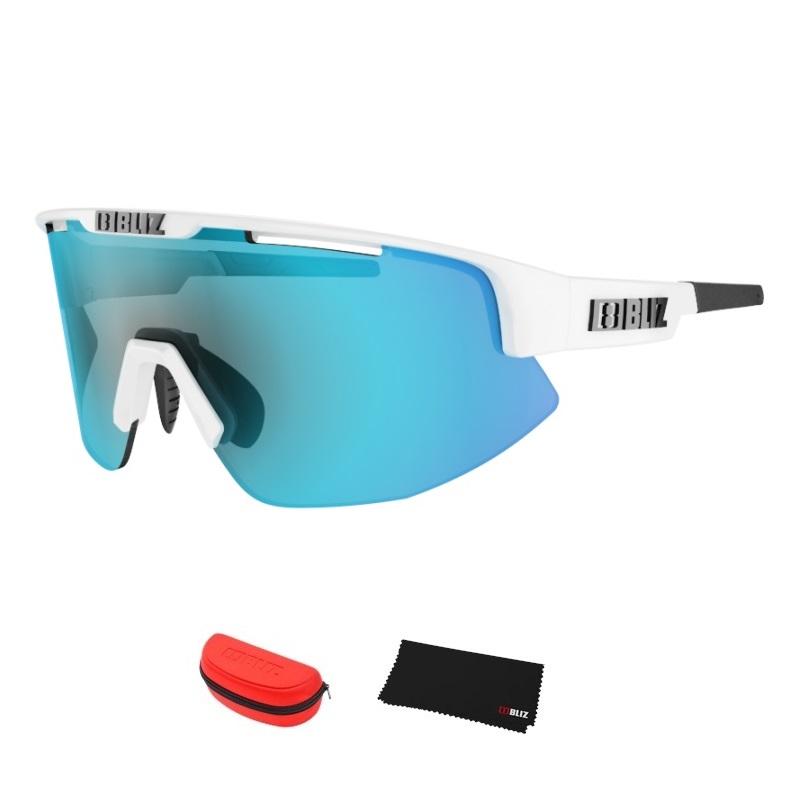 Športové slnečné okuliare Bliz Matrix biela
