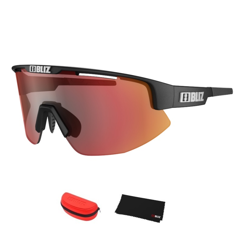 Športové slnečné okuliare Bliz Matrix čierna