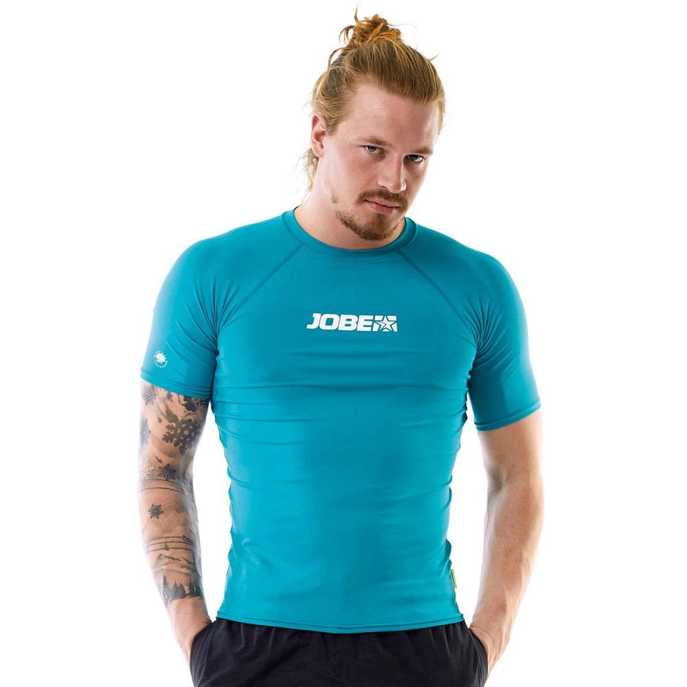Pánske tričko pre vodné športy Jobe Rashguard 2018 modrá - S