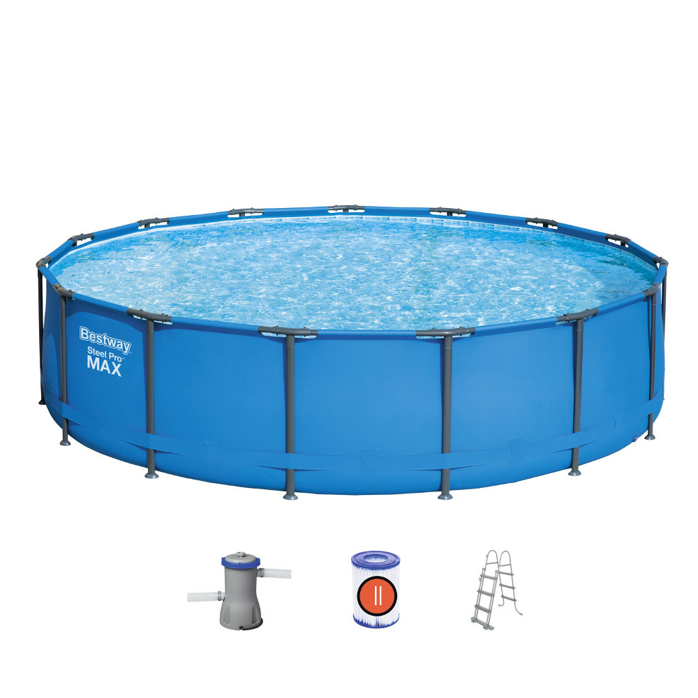 Bazén Bestway Steel Pro Max 427 x 107 cm s filtráciou