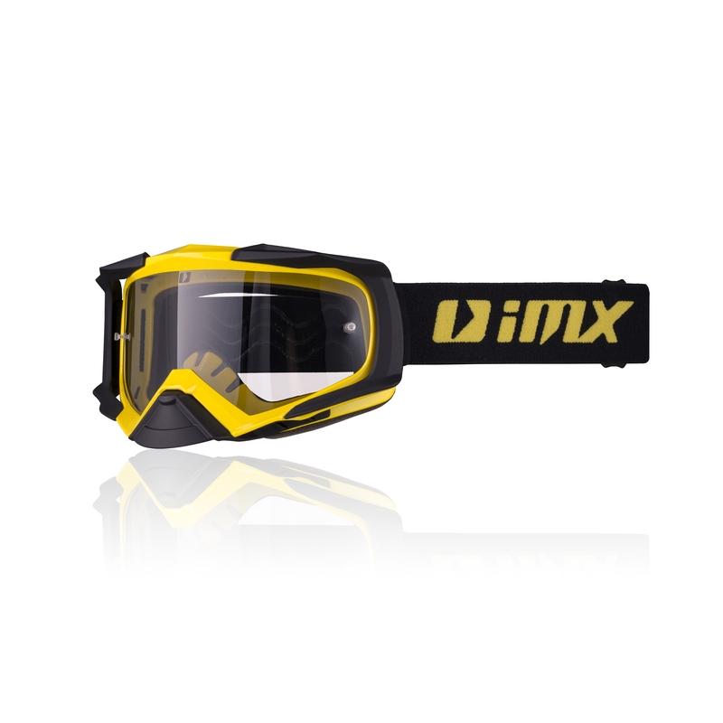 Motokrosové okuliare iMX Dust Yellow-Black Matt