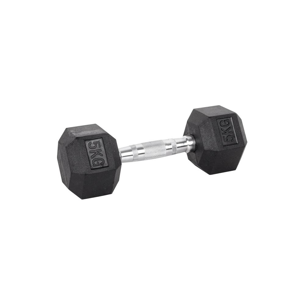 Šesťhranná činka inSPORTline Hexsteel 5 kg