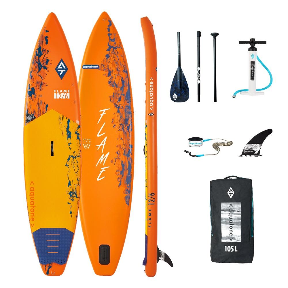 Paddleboard s príslušenstvom Aquatone Flame 12.6