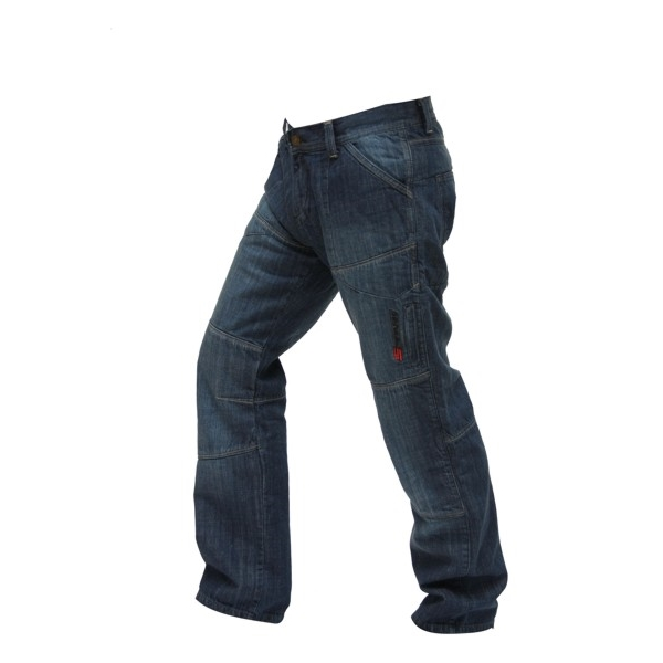 Pánske jeansové moto nohavice Spark Track