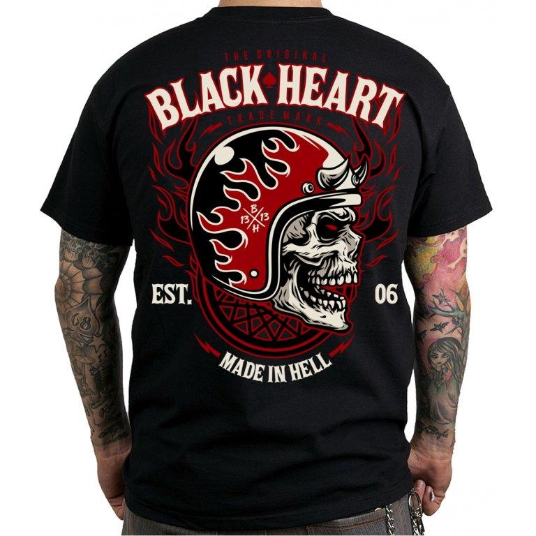 Tričko BLACK HEART Hatter