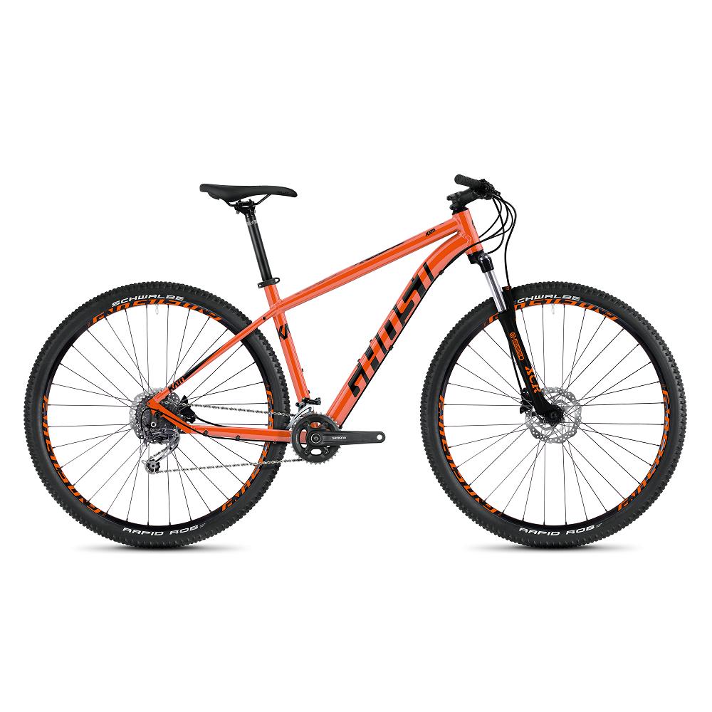 """Horský bicykel Ghost Kato 5.9 AL 29"""" - model 2020 Monarch Orange / Jet Black - S (16,5"""") - Záruka 10 rokov"""