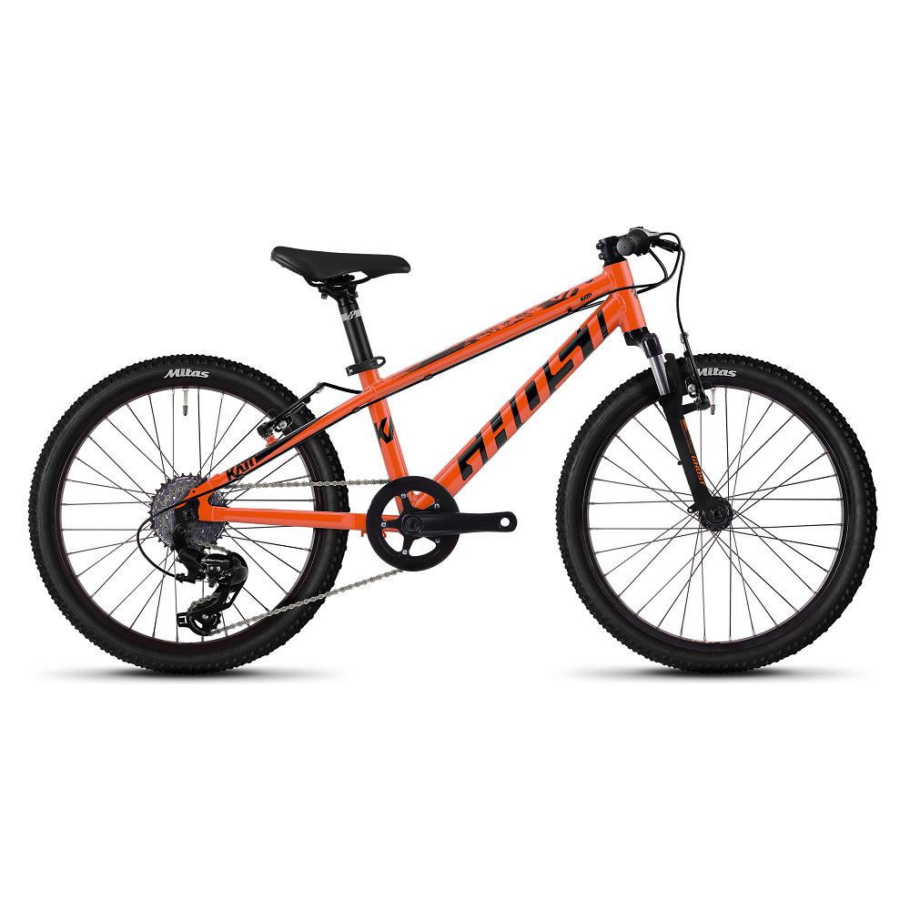 """Detský bicykel Ghost Kato 2.0 AL 20"""" - model 2020 Monarch Orange / Jet Black - Záruka 10 rokov"""