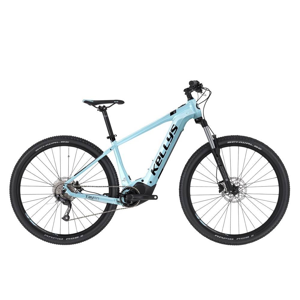 """Dámsky horský elektrobicykel KELLYS TAYEN 10 29"""" - model 2021 sky blue - M (17.5"""")"""