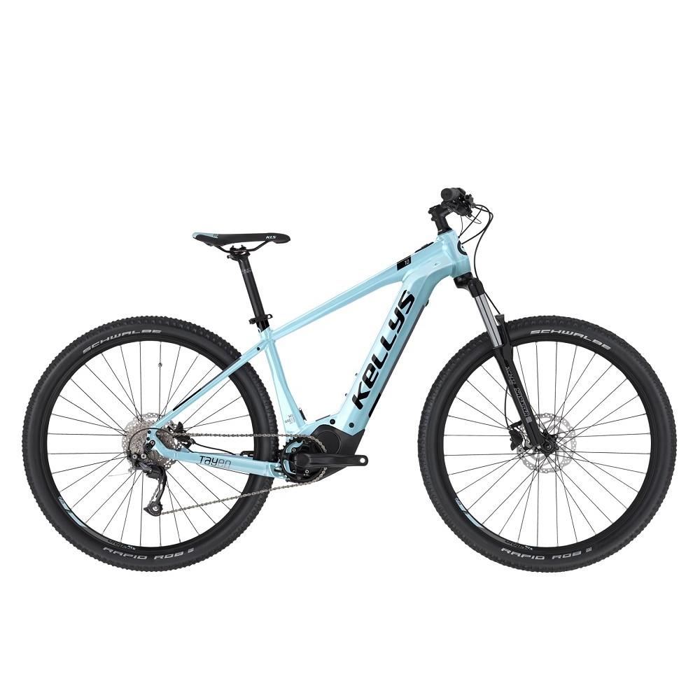 "Dámsky horský elektrobicykel KELLYS TAYEN 10 27,5"" - model 2021 sky blue - S (15"") - Záruka 10 rokov"