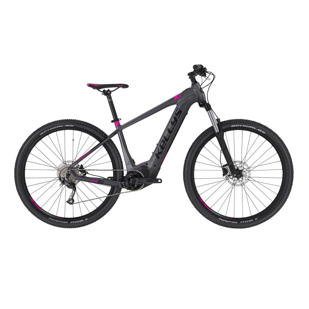 """Dámsky horský elektrobicykel KELLYS TAYEN 10 29"""" - model 2021 Grey - M (17.5"""")"""