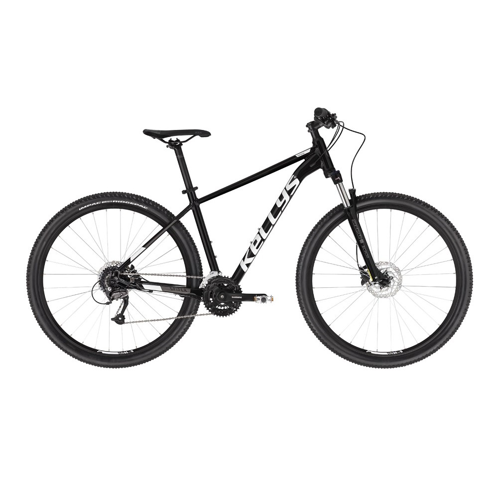 "Horský bicykel KELLYS SPIDER 50 26"" - model 2021 Black - XXS (14"") - Záruka 10 rokov"