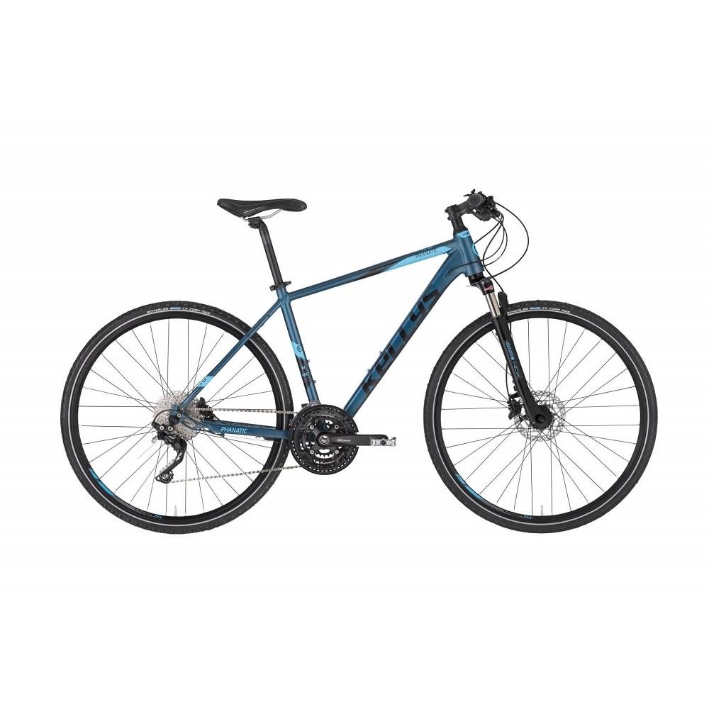 """Pánsky crossový bicykel KELLYS PHANATIC 70 28"""" - model 2021 M (19'') - Záruka 10 rokov"""