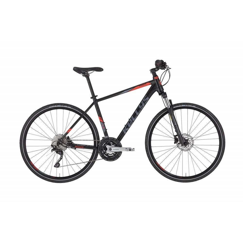 """Pánsky crossový bicykel KELLYS PHANATIC 50 28"""" - model 2021 S (17'') - Záruka 10 rokov"""