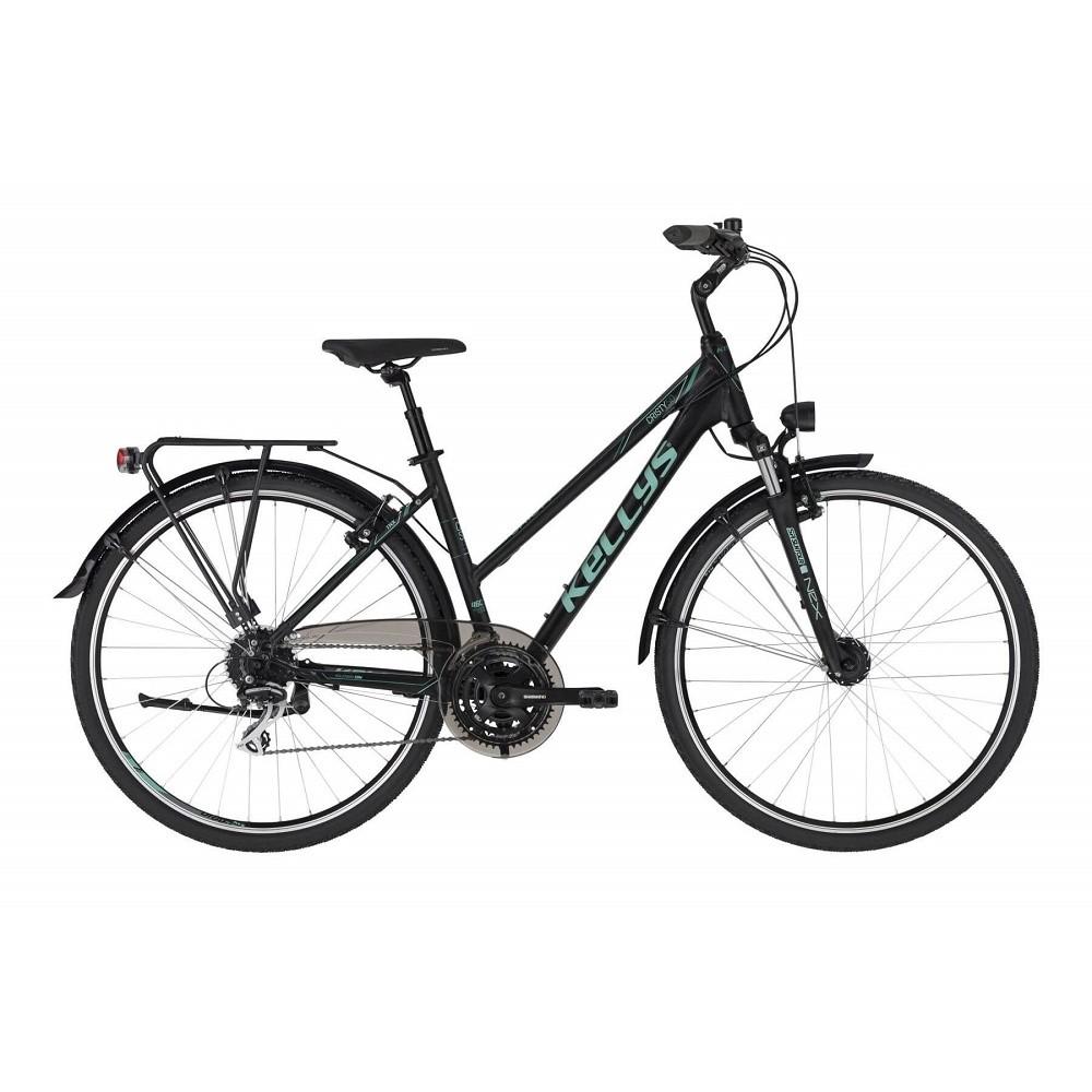 "Dámsky trekingový bicykel KELLYS CRISTY 50 28"" - model 2021 M (18"") - Záruka 10 rokov"