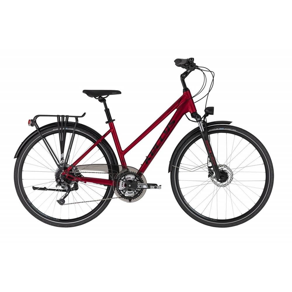 "Dámsky trekingový bicykel KELLYS CRISTY 70 28"" - model 2021 M (18"") - Záruka 10 rokov"