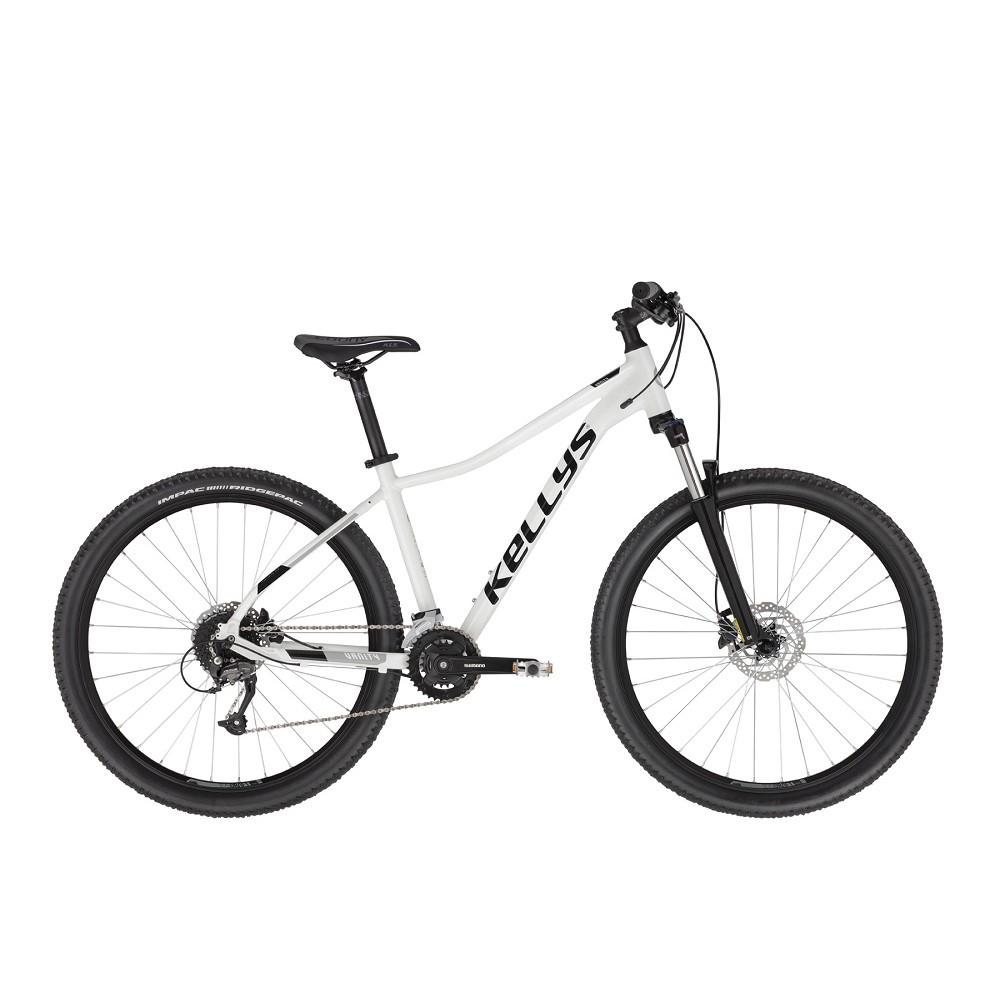 "Dámsky horský bicykel KELLYS VANITY 70 27,5"" - model 2021 White - S (15"")"