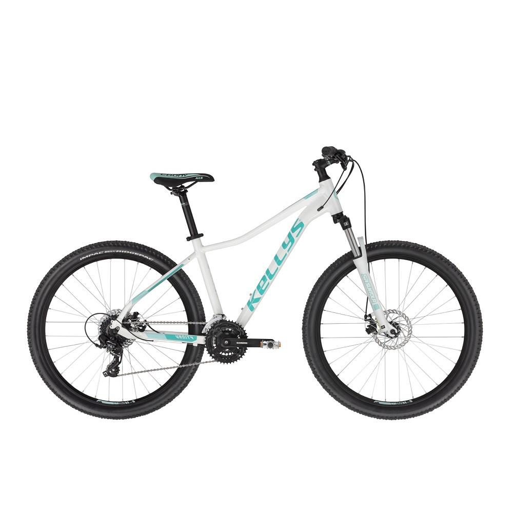 "Dámsky horský bicykel KELLYS VANITY 30 27,5"" - model 2021 White - S (15"")"