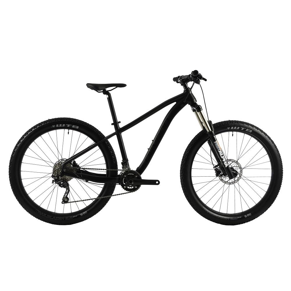 "Horský bicykel Devron Zerga 1.7 27,5"" - model 2019 Black - 20,5"" - Záruka 10 rokov"