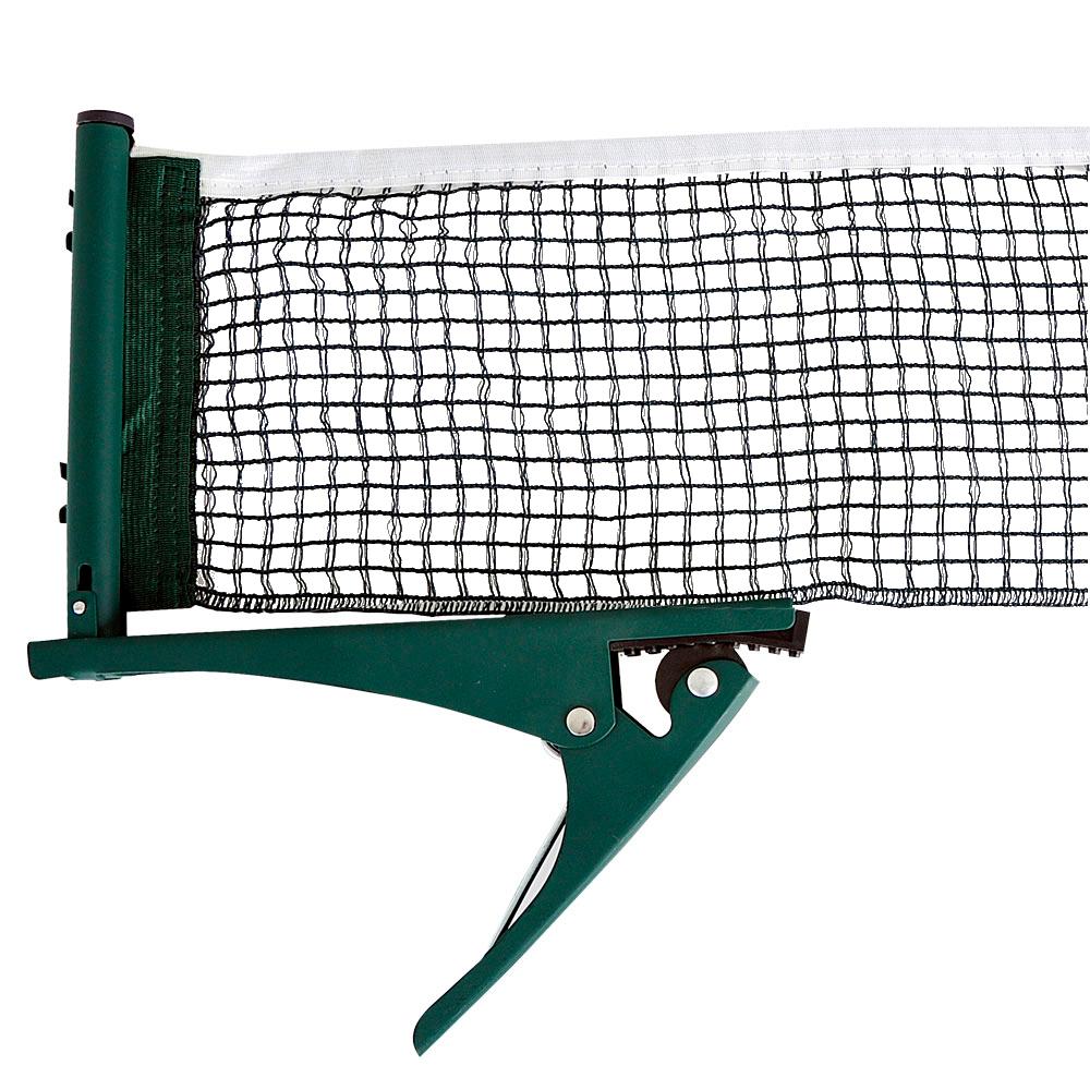 Sieťka na stolný tenis inSPORTline vrátane svoriek - zelená