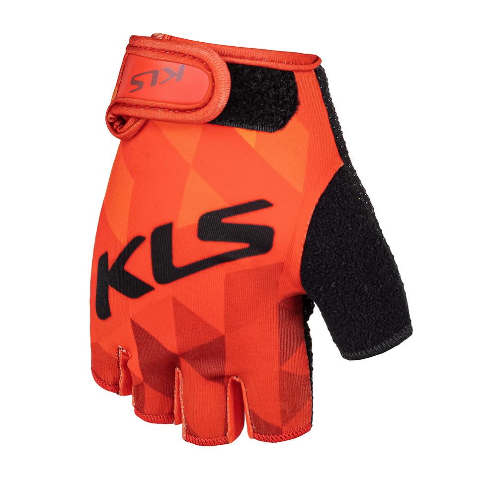 Cyklo rukavice Kellys Yogi Short červená - S