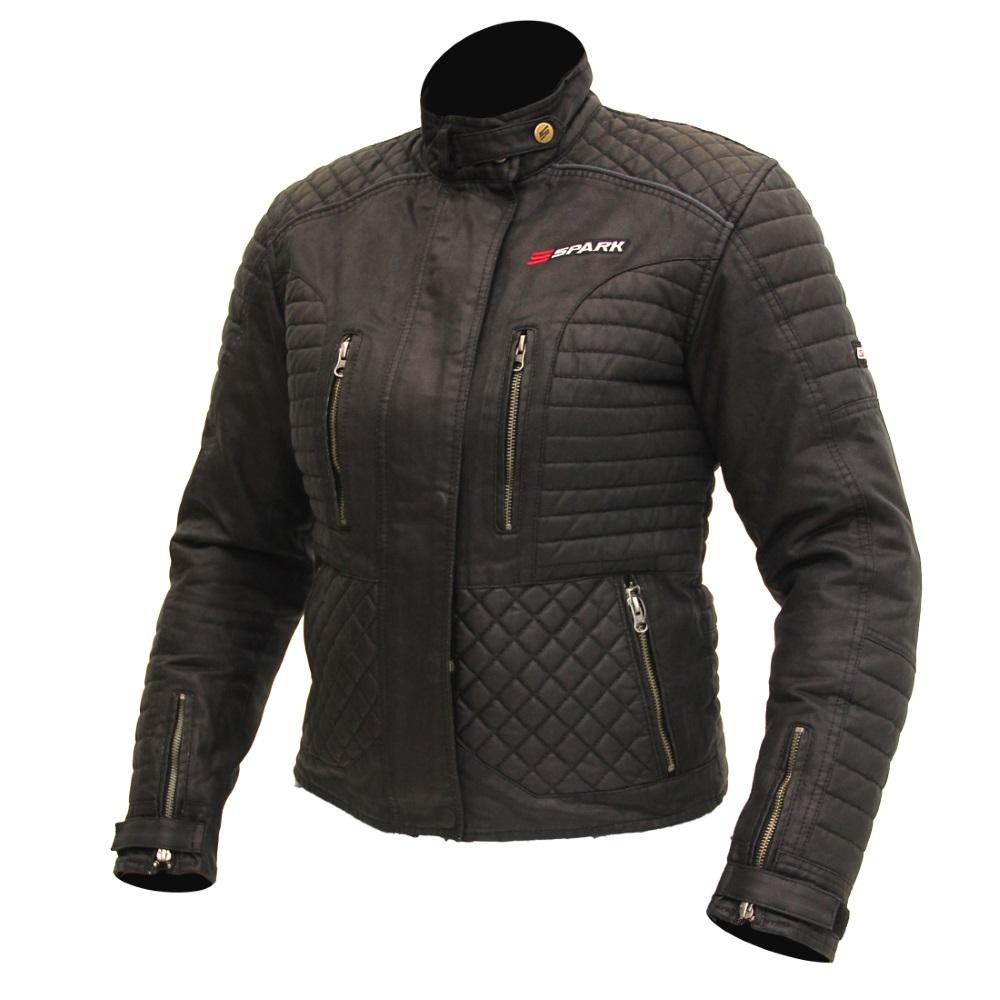 Dámská textilna moto bunda SPARK Cintia čierna - M