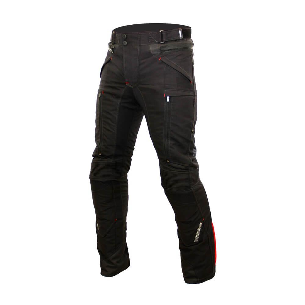 Pánske textilné moto nohavice Spark Nautic čierna - XL