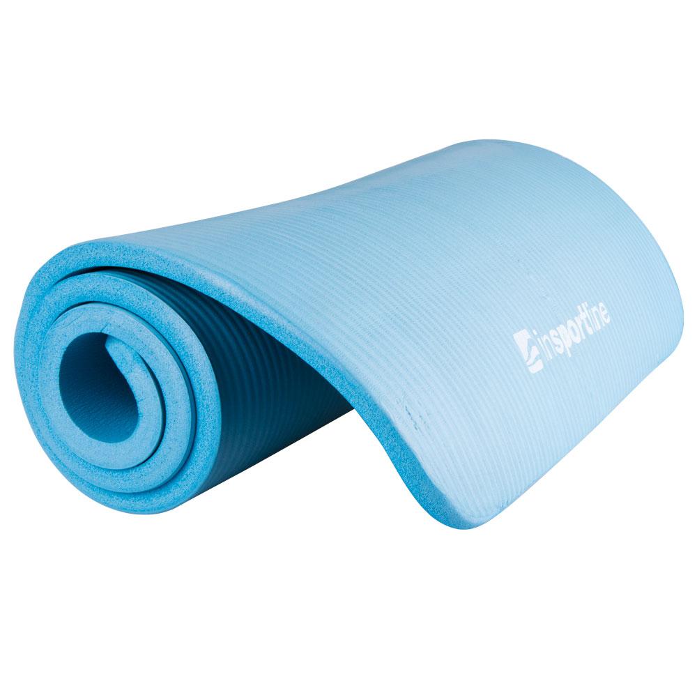 Podložka na cvičenie inSPORTline Fity 140x61x1,5 cm modrá