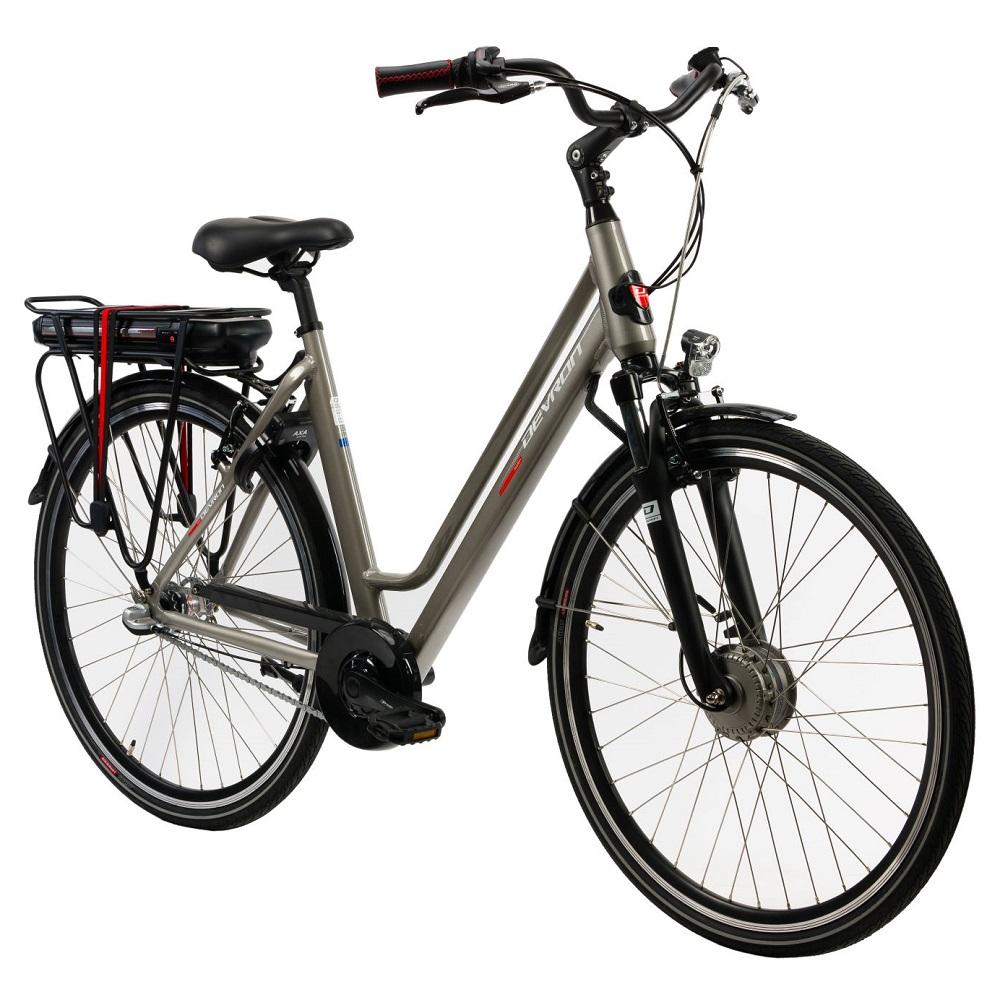 """Mestský elektrobicykel Devron 28122 - model 2019 Grey - 19,5"""" - Záruka 10 rokov"""